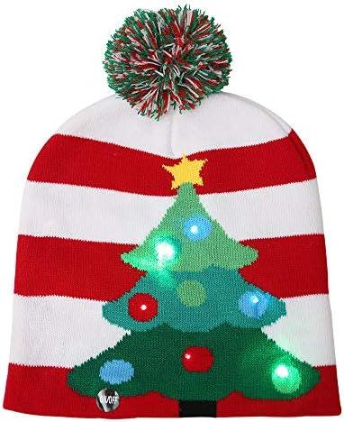 Christmas Beanies Flashing Decoration Ornament product image