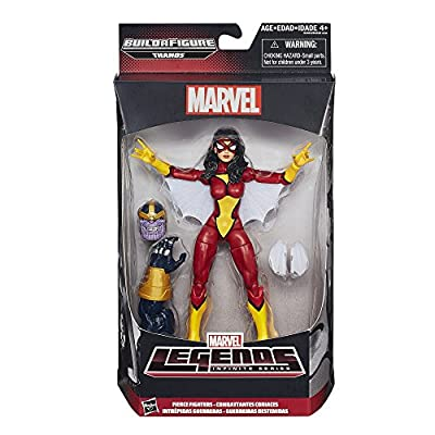 Marvel Legends Infinite Fierce Fighters Spider-Woman 6-Inch Figure: Toys & Games