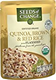 quinoa with brown rice - SEEDS OF CHANGE Organic Quinoa, Brown & Red Rice, 8.5oz