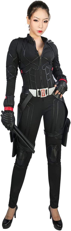 Nexthops Viuda Negra Disfraz Black Widow Cosplay Traje Completo ...