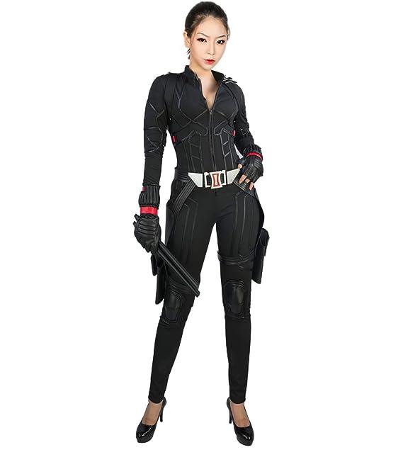 Nexthops Viuda Negra Disfraz Black Widow Cosplay Traje ...