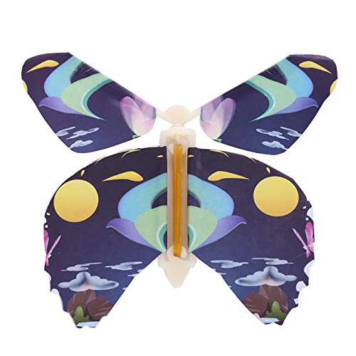 Gmai Flying Butterfly - Classic Wedding Wind Up Swallowtail Butterfly - Close Up Children's Magic Set Of by Gmai (Image #2)