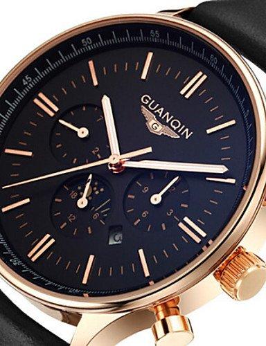 Marca reloj 2015 relojes hombres de lujo superior GUANQIN Fashion - Reloj de cuarzo para hombre Sport Casual reloj de pulsera Relogio Masculino, ...