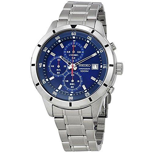 Seiko-Chronograph-Blue-Dial-Mens-Watch-SKS559