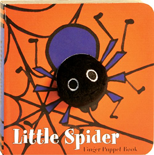 Little Spider (Finger Puppet Book) -