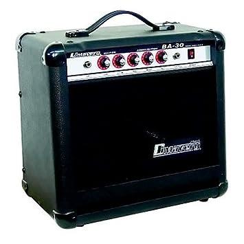 Dimavery amplificador de bajo 059388 BA-30 30W Negro