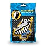 HeadBlade Men's HB4 Refill Shaving Razor Blades (12 Blades) 3 Pack