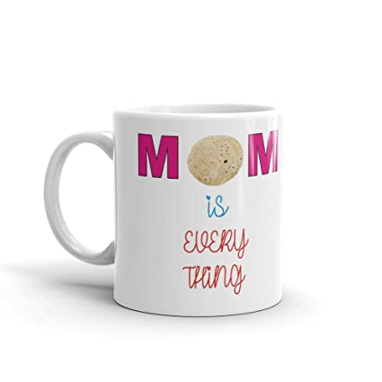 Buy Family Shoping Birthday Gift Mom Si Everything White Coffee Mug 320ml For Online At Low Prices In India