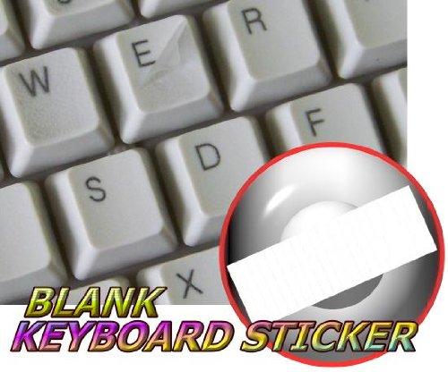 BLANK TRANSPARENT KEYBOARD STICKERS (DESKTOP, LAPTOP AND NOTEBOOK)