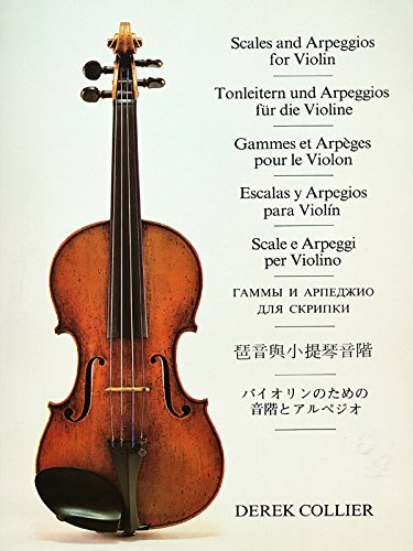 Scales and Arpeggios for Violin (Faber Edition)