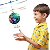 TOP Gift Gifts for 3-12 Year Old Girls, RC Flying Ball Helicopter Toys for Boys Girls Kids Purple TGFLB05