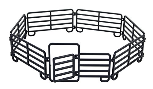 Big Country Toys 7-Piece Corral Fence Panel Set - 1:20 Scale - Farm Toys - Toy Fence Panels ()