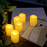 UP-ARESI Flameless Candles, Outdoor Indoor
