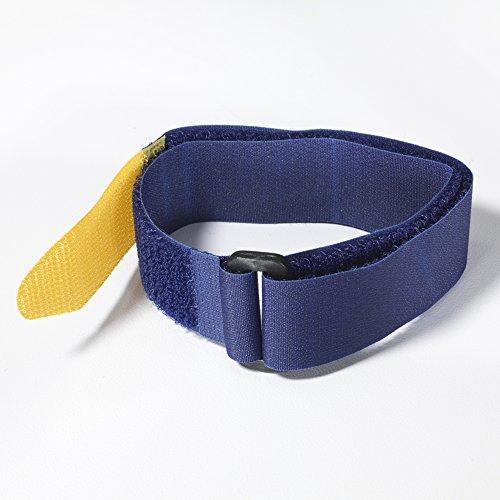 """VELCRO Brand - All Purpose Straps - 36"""" x 1"""" Marine Grade, 2 Ct. - Blue"""