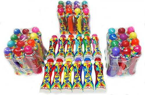 Bulk Purchase--set of 48 Dab-o-ink 4 Oz Bingo Daubers