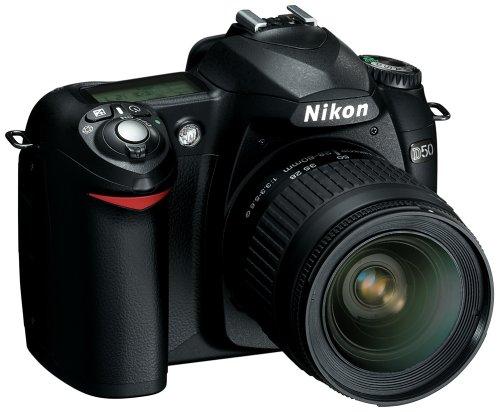 Nikon D50 6.1MP Digital SLR Camera with 28-80mm f3.3-5.6G AF Nikkor Zoom Lens