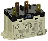 Omron G7L-1A-TUB-CB-AC100/120 General Purpose Relay, Class B Insulation, QuickConnect Terminal, Upper Bracket Mounting, Single Pole Single Throw Normally Open Contacts, 17 to 20.4 mA Rated Load Current, 100 to 120 VAC Rated Load Voltage