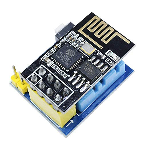 WINGONEER ESP8266 ESP-01S Serial Wireless Transceiver and DHT11 Temperature Humidity Monitor Shield Sensor WiFi Module Adapter Board