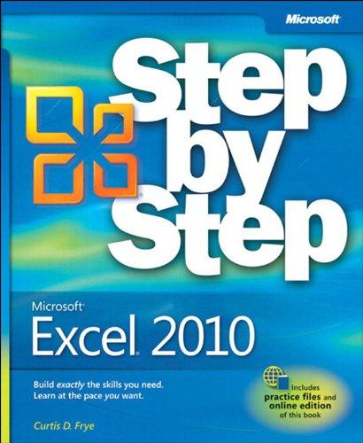 Download Microsoft Excel 2010 Step by Step Pdf