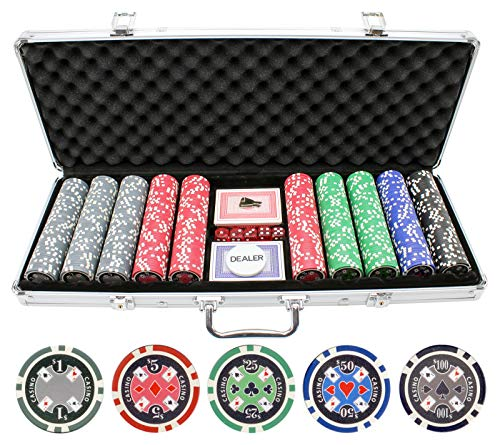 (JP Commerce 500pc 11.5g Casino Ace Poker Chips)