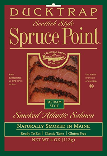 Ducktrap, Spruce Point, Smoked Atlantic Salmon, Pastrami Style, 4 oz ()