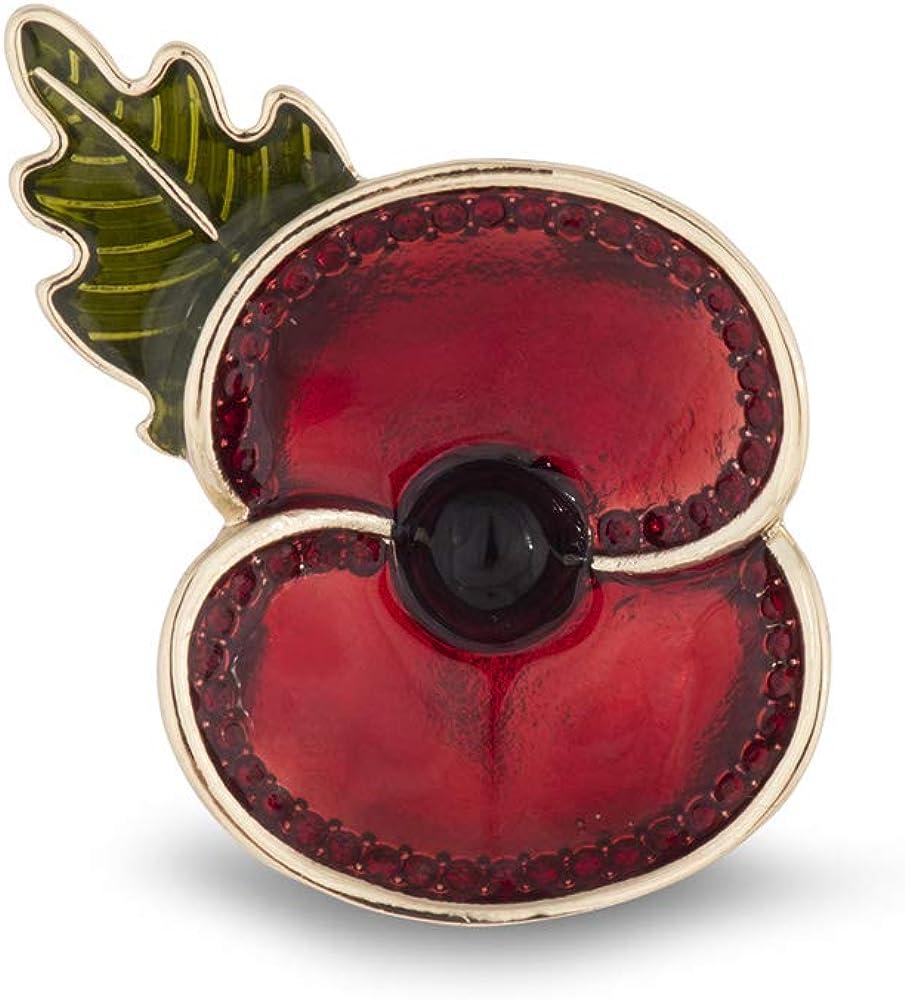 The Royal British Legion Commonwealth Gold Tone Brooch