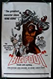 BIGFOOT * 1SH ORIG MOVIE POSTER EX-NM 1971 ROLLED BIKER