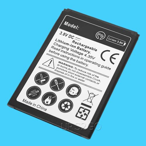 Amazon com: High Power 2100mAh Extra Li-ion Battery for