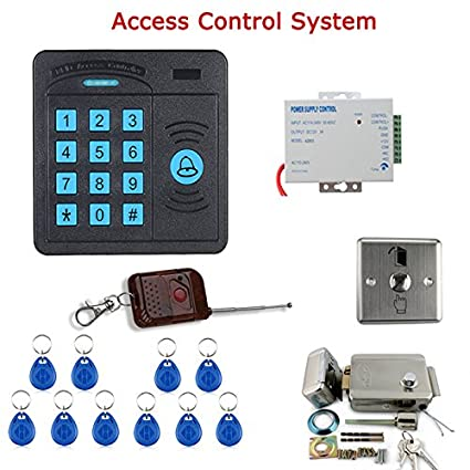 MOUNTAINONE Door Access Control System Controller ABS Case RFID Reader Keypad Remote Control 10 ID cards  sc 1 st  Amazon.com & Amazon.com : MOUNTAINONE Door Access Control System Controller ABS ...