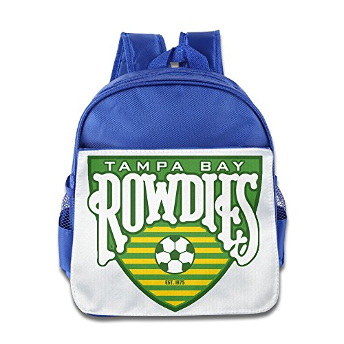 [HYRONE Tampa Bay Logo Rowdies Teenager School Bag Backpack For 1-6 Years Old RoyalBlue] (Alvin And The Chipmunks Costumes For Kids)