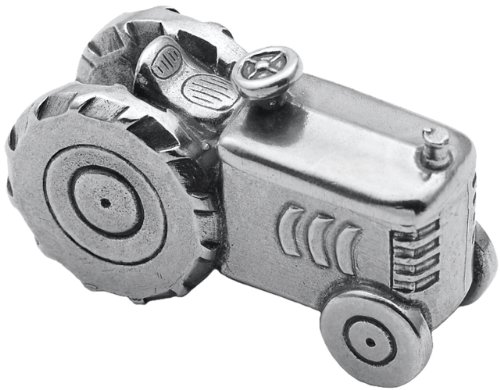 DANFORTH - Tractor Pewter Toothfairy Box - Handcrafted - Gift Boxed - Made in - Fairy Pewter Box Tooth