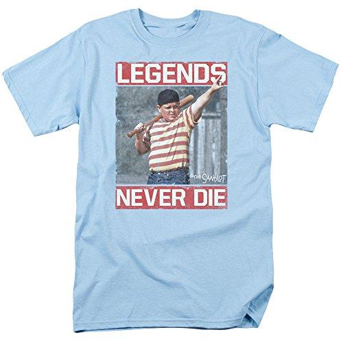 Sandlot- Legends Never Die T-Shirt Size (Mens Never Die)