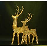 Christmas Reindeer (L-size) - LED Lighted