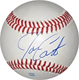 Joe Carter, Toronto Blue Jays, Cleveland Indians, Signed, Autographed, Baseball, a COA with the Proof Photo of Joe Signing Will Be Included