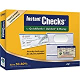 VersaCheck Instant Checks Form # 3000 Business Standard Check, Green Graduated,250 Sheets/750 Checks