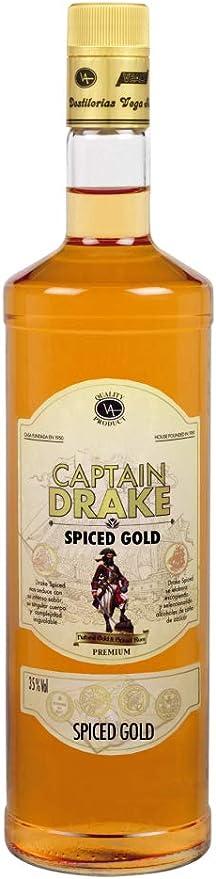RON CAPTAIN DRAKE SPICED GOLD 70 CL.: Amazon.es ...