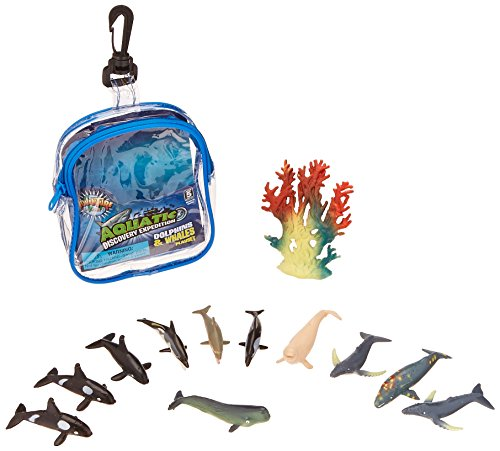 Oasis Supply Dolphin & Whale PlaySet Cake Topper Kit - 12 (Dolphin Cake Topper)