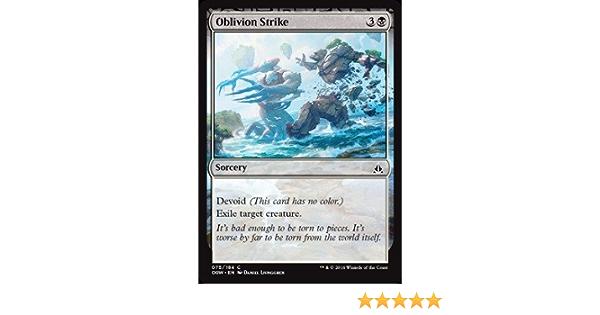 Oath of the Gatewatch 4x MTG: Oblivion Strike Black Common OGW
