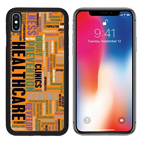 MSD Premium Apple iPhone X Aluminum Backplate Bumper Snap Case IMAGE