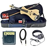 Bunnel NEXT Forte Electric Violin Outfit (Natural Flame) Amp Included