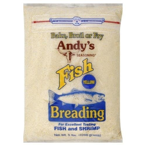 Andys, Ssnng Yellow Fsh, 5 LB (Pack of 6)
