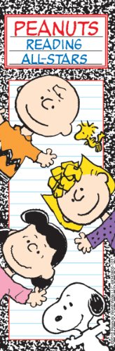 - Eureka Back to School Peanuts 'Reading All Stars' Bookmarks for Kids 36pc, 2'' W x 6'' H