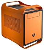 BitFenix Mini-ITX Tower Case Without Power Supply, Atomic Orange BFC-PRO-300-OOXKO-RP