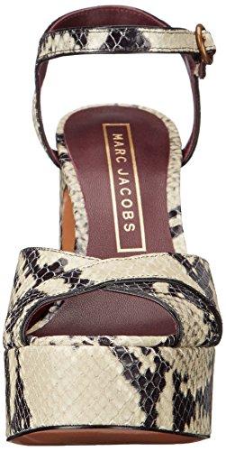 Marc Jacobs Kvinners Debbie Plattform Sandal Plattform Pumpe Naturlig Multi