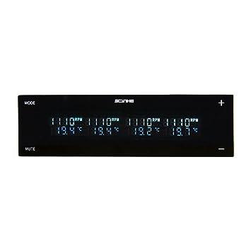 Scythe Kaze Master Flat II - Controlador de Ventilador para PC (5.25