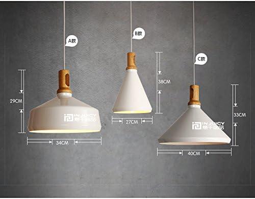 Injuicy Lighting Aluminum Pendant Lamp Ceiling Light Fixture Lighting Modern Decor Chandelier E27 27CM