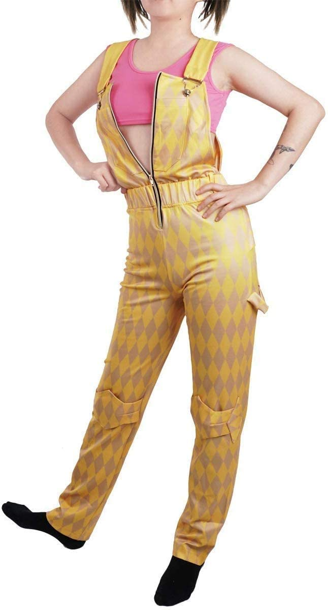 Cosplay Costume for The Film Character Jumpsuit Gold S-L (L)