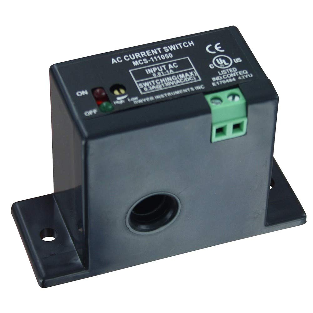 Dwyer Miniature Current Switch Mcs 111050 Solid Core 5 To 50 A Wiring Further Cnc Limit Switches On Honeywell Micro Continuous Industrial Scientific