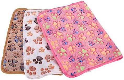 FEDBNET coperta calda e morbida in pile per cani di taglia piccola 100 x 80 cm media e grande lavabile
