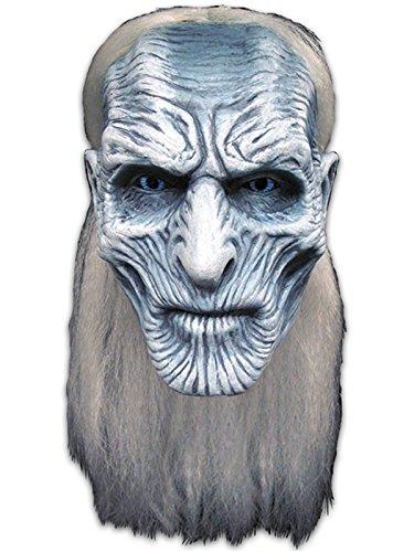 Trick Or Treat Studios Men's Game of Thrones-White Walker Mask, Multi One -